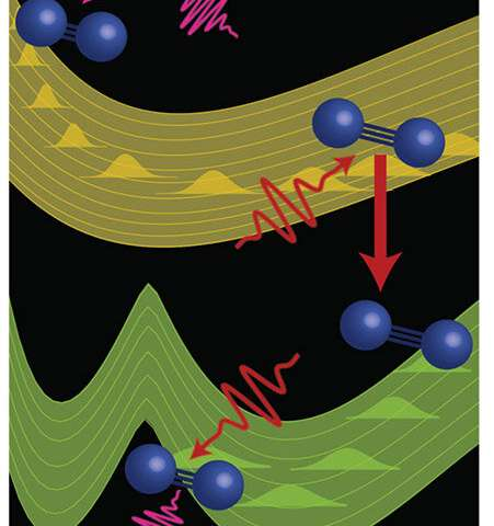 Catching Fast Changes in Excited Molecules