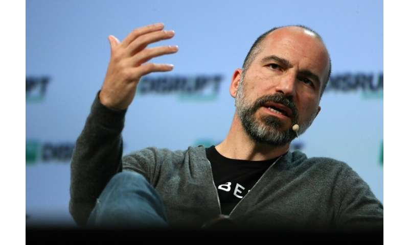 CEO Dara Khosrowshahi of Uber has sought to clean up the image of the global ride-hailing giant as it prepares for its massive W
