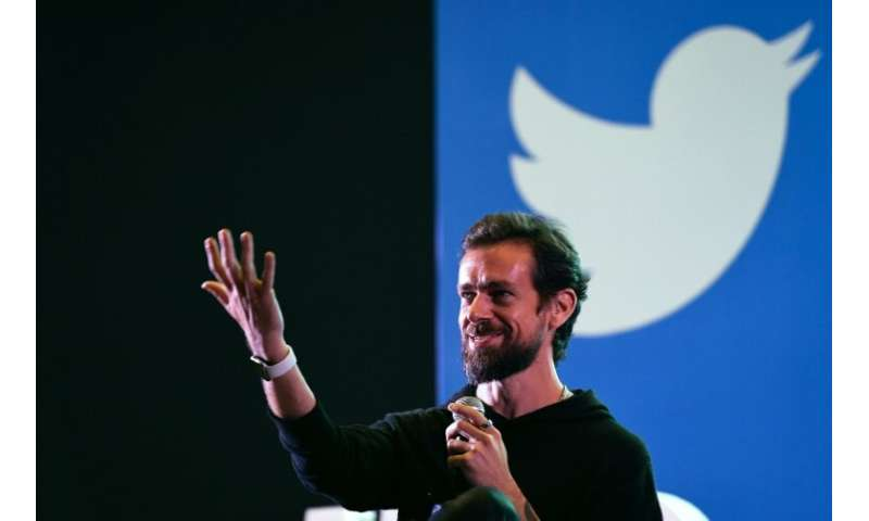 CEO Jack Dorsey said a strong quarterly profit report shows Twitter is making progress in rooting out abusive and hateful conten