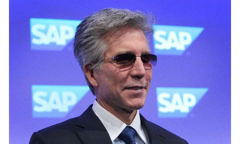 CEO of German business software group SAP steps down