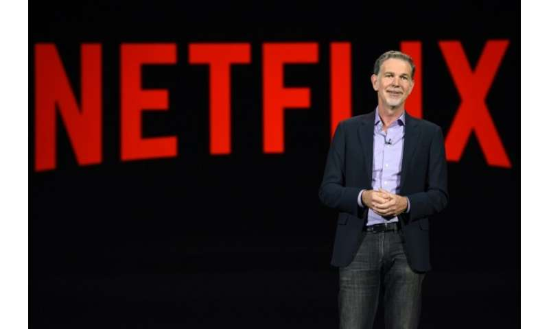 CEO Reed Hastings says Netflix faces competition from a variety of rivals including interactive video games