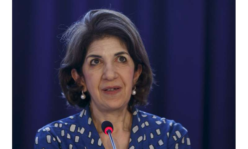 CERN appoints Gianotti, first female chief, to second term