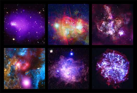 Chandra X-ray observatory celebrates its 20th anniversary