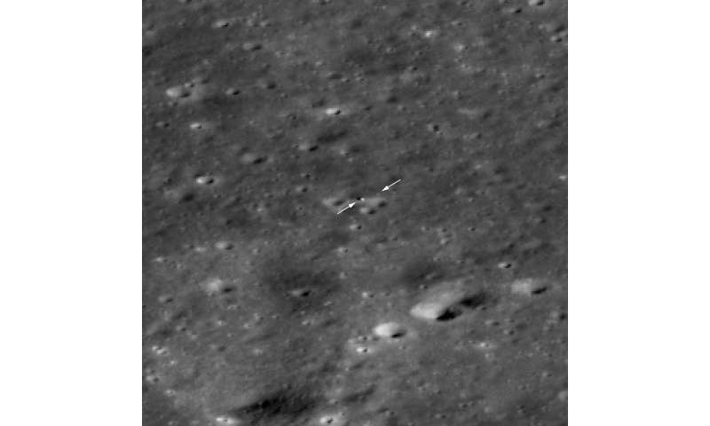 Chang'e 4 Rover comes into view