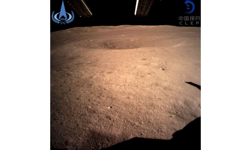 Chang'e 4: why the moon's far side looks red in new images