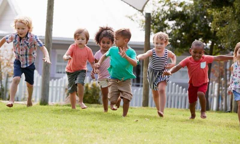Children in childcare are not getting enough moderate to vigorous intensity physical activity
