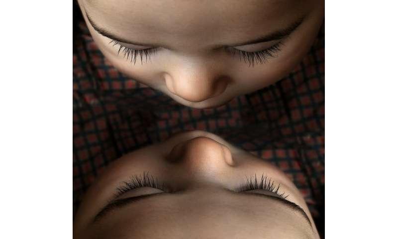 child's nose