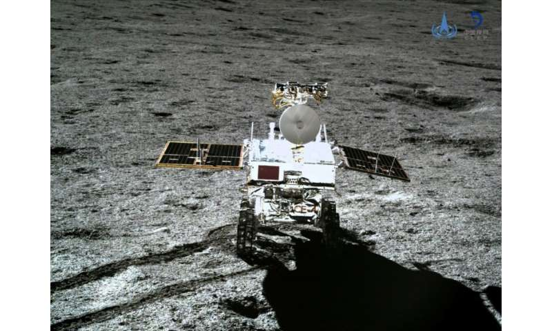 China became the first nation to land a rover on the far side of the moon when its Chang'e-4 touched down in January