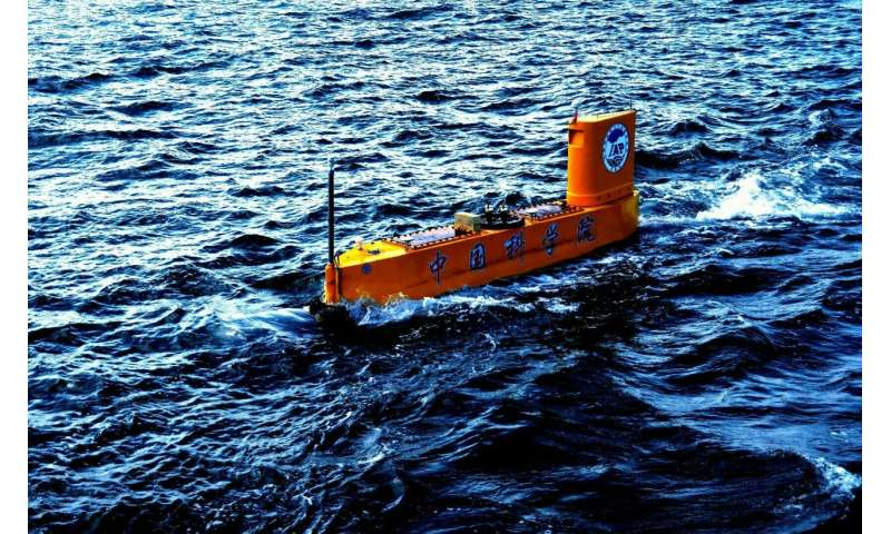 China launched world's first rocket-deployed weather instruments from unmanned semi-submersible vehicle