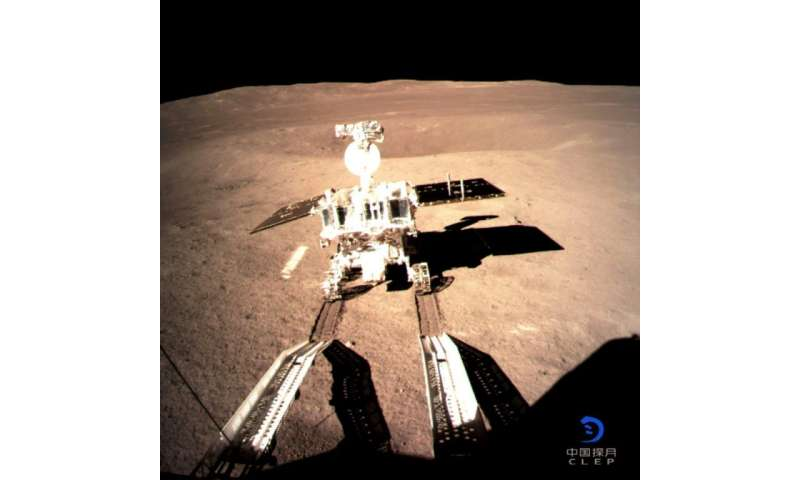 China's Jade Rabbit-2 rover drove on the far side of the Moon on January 3, 2018, a mission no other space mission has ever acco