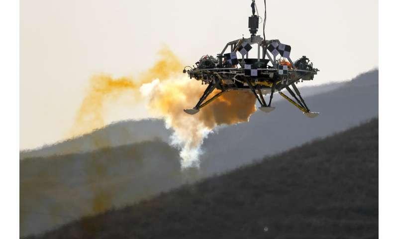 China tests Mars lander in international cooperation push