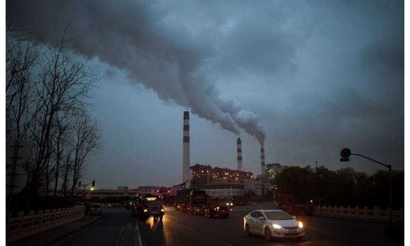 China, the United States, the European Union and India produce almost two-thirds of all manmade emissions