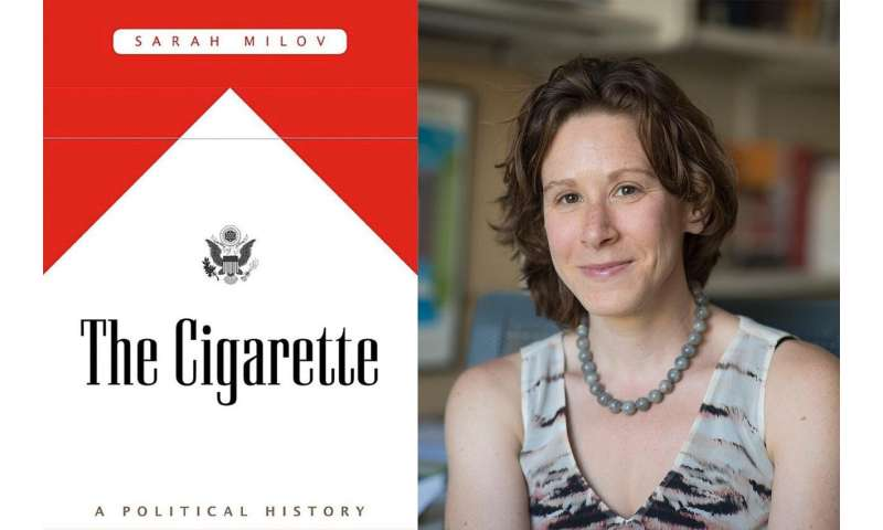 Cigarettes weave a complex path through past century, historian finds