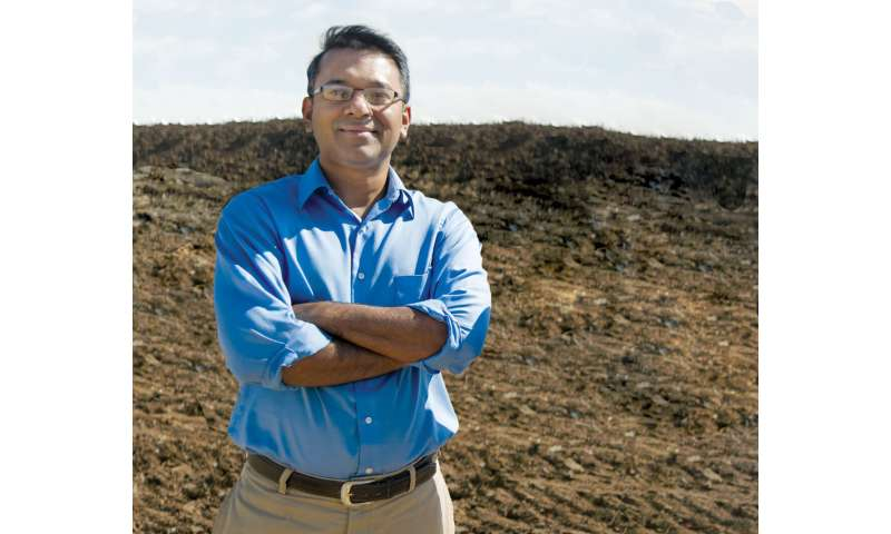 Civil engineering professor recognized for impact on sustainable urban development