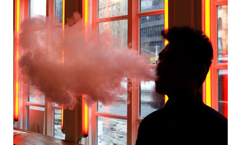 Clampdown on vaping could send users back toward cigarettes