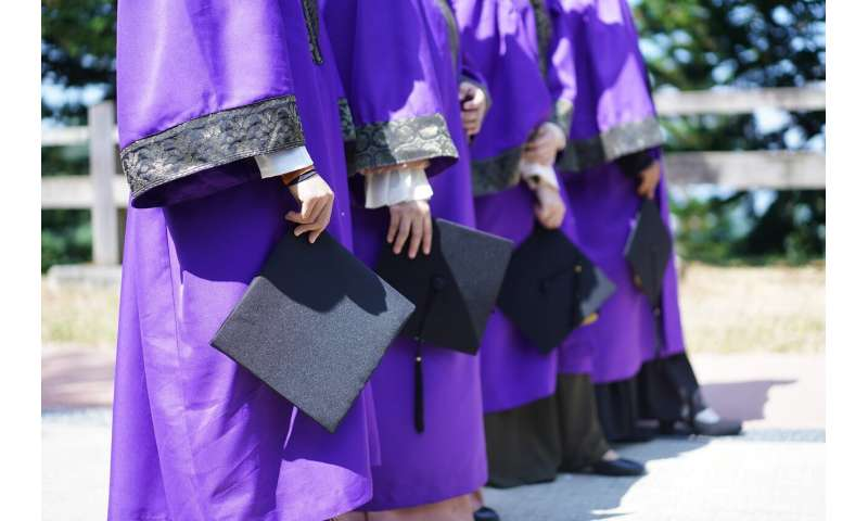 Study suggests college grads who value time over money happier a year later