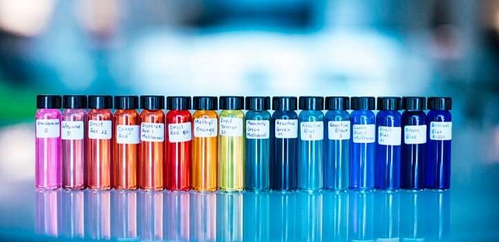 Colorful solution to a chemical industry bottleneck