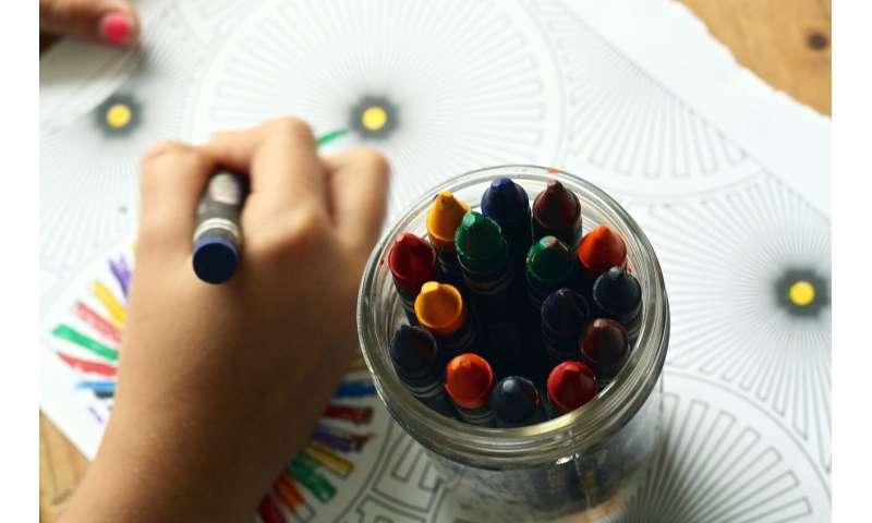 coloring crayon