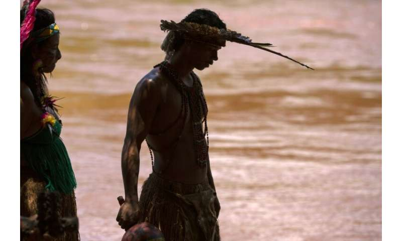 Communities living along the muddied Paraopeba river said dead fish were floating to the surface