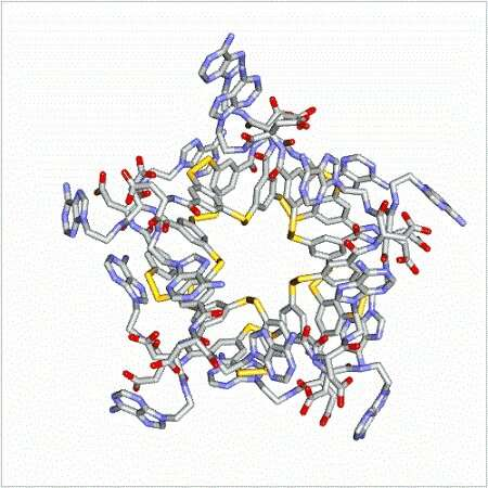 Complex molecules emerge without evolution or design