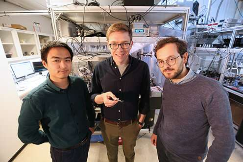Copenhagen researchers break quantum limit in the precision of force and position measurements