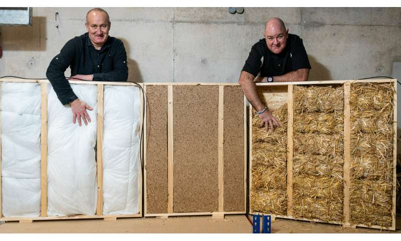 Could waste materials insulate buildings?