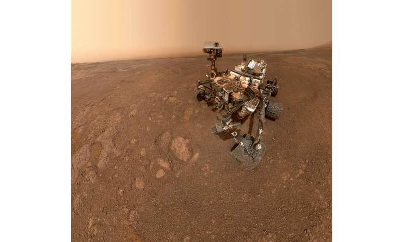 Curiosity Says Farewell to Mars' Vera Rubin Ridge