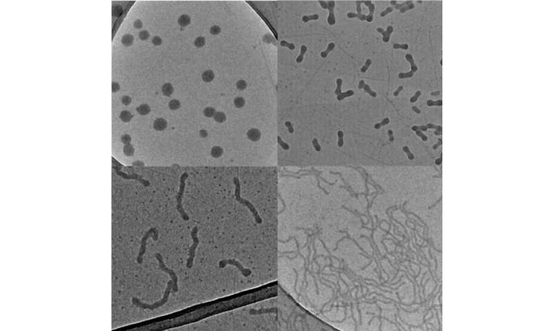 Cutting nanoparticles down to size