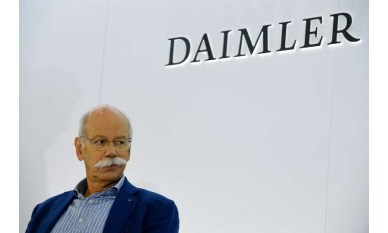 Daimler, whose board chairman is Dieter Zetsche, seen at October's Paris Motor Show, confirmed the probe and said it would &quot