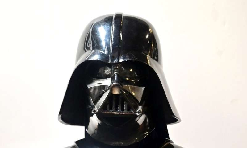"""Darth Vader's helmet from the film """"The Empire Strikes Back"""" could fetch nearly half a million dollars at auction"""