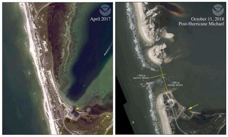 Defining Hurricane Michael's impact on St. Joe Bay, Florida