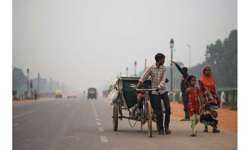 Delhi and other cities in northern India have again been blanketed by poisonous haze that hits each winter