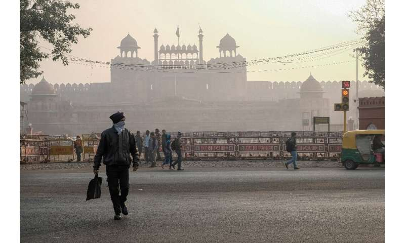 Delhi is one of the world's most polluted cities and each winter seasonal crop stubble burning, dense cloud cover and smoke from