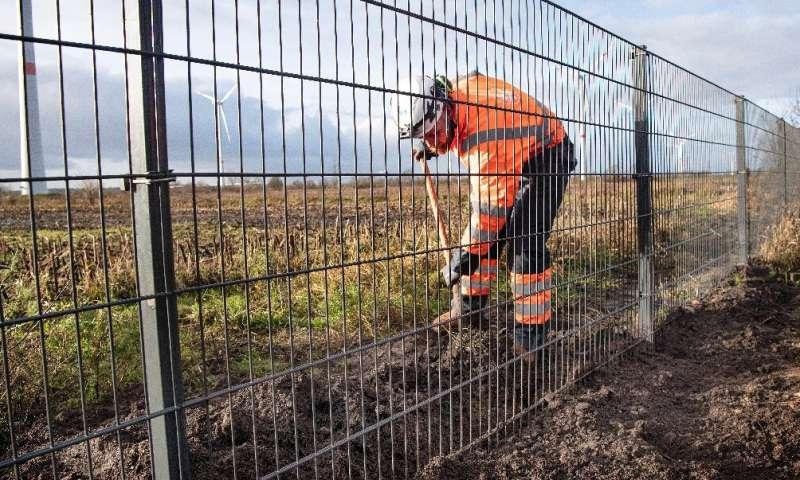 Dinamarca está construyendo una cerca en su frontera con Alemania
