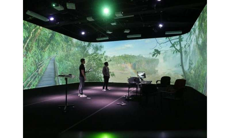 Deployable human-scale immersive virtual environments?