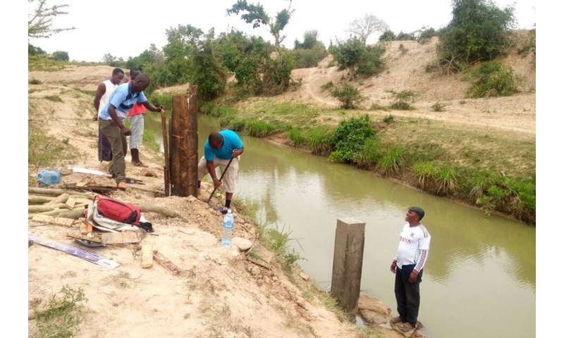 Designing water infrastructure for climate uncertainty