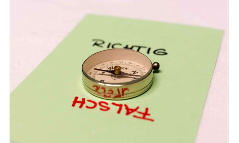 Developing a moral compass from human texts