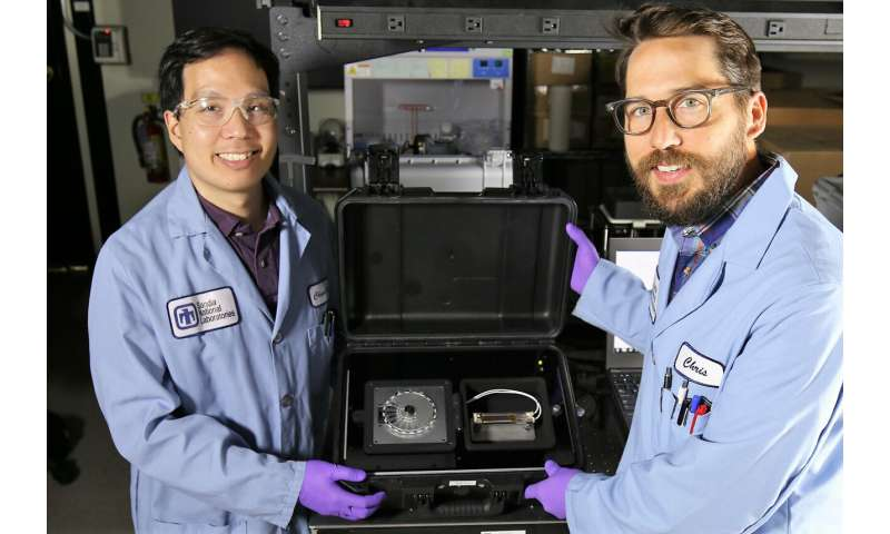 Device update enables mobile testing for viruses, bacteria and active toxins
