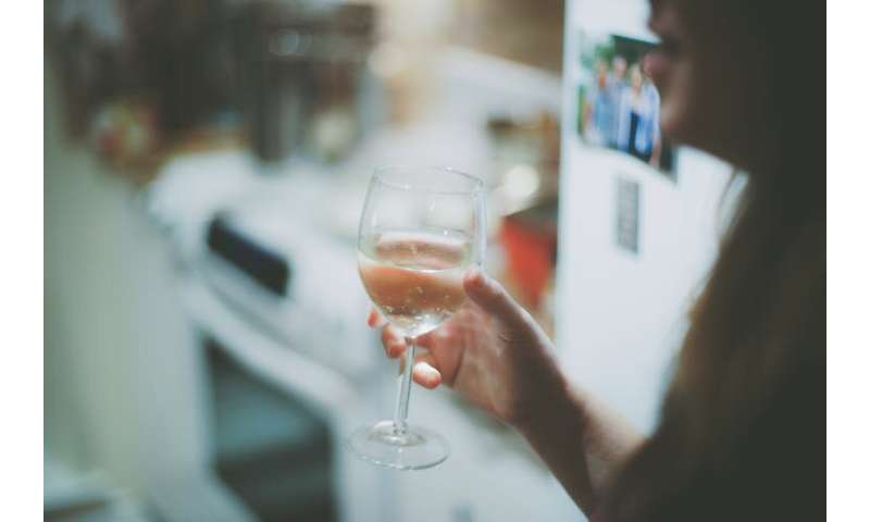 Did you look forward to last night's bottle of wine a bit too much? Ladies, you're not alone