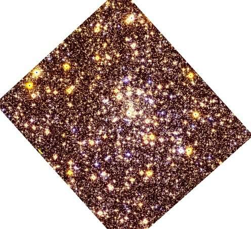 Djorgovski 2 is a moderately metal-poor globular cluster, study finds