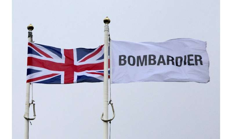 Downing Street welcomed the Bombardier deal, saying it would protect high-skilled jobs at the plant in Northern Ireland