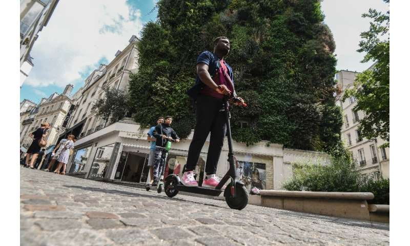 Dozens of scooter companies have flooded Paris's streets
