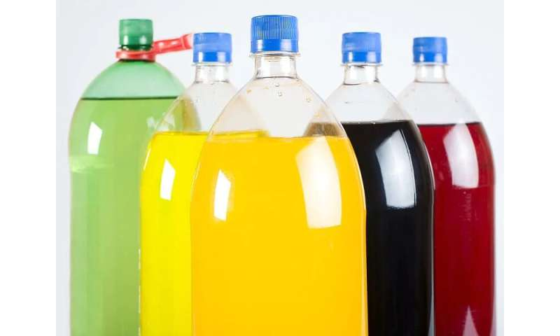 Drinking soft drinks tied to higher risk for early death