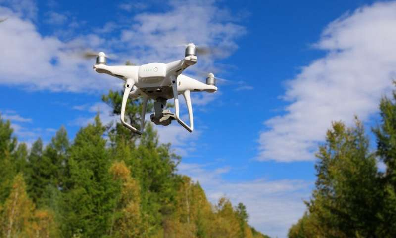 Drones help track wildfires, count wildlife and map plants