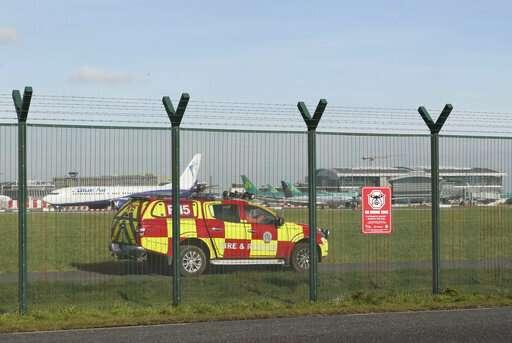 Drone sighting halts flights at Ireland's Dublin Airport