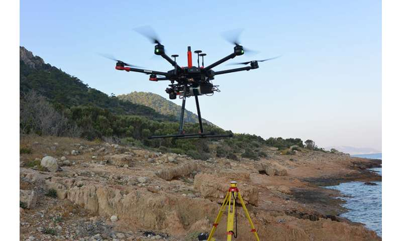 Drones, lasers to help unravel the mysteries of a Mediterranean island