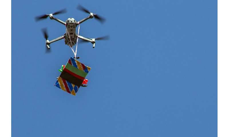 Drones may not always be delivering gifts
