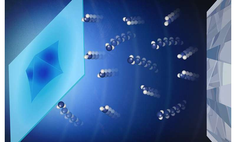 Dynamic compression provides new insight into understanding and predicting crystal growth