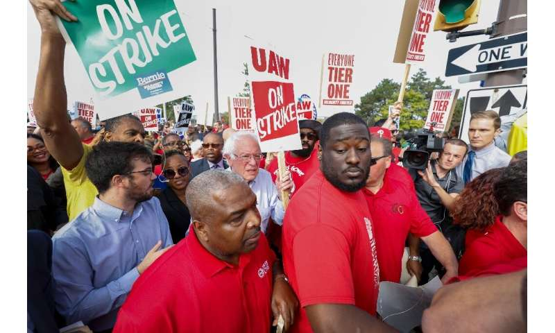 Earlier this week, Bernie Sanders became the latest Democratic presidential candidate to visit striking UAW workers at a General