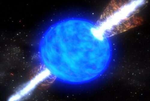Earth's heavy metals result of supernova explosion